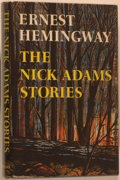 Books:Literature 1900-up, Ernest Hemingway. The Nick Adams Stories. New York: CharlesScribner's Sons, 1972. First edition. Octavo. 268 pa...