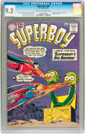 Silver Age (1956-1969):Superhero, Superboy #89 (DC, 1961) CGC NM- 9.2 Cream to off-white pages....