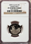 Proof Statehood Quarters, 2009-S 25C Puerto Rico Clad PR70 Ultra Cameo NGC. NGC Census: (0).PCGS Population (453). Numismedia Wsl. Price for proble...