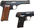 Handguns:Semiautomatic Pistol, Lot of Two Assorted European Semi-Automatic Pistols.... (Total: 2Items)