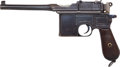 Handguns:Semiautomatic Pistol, Mauser Model 96 Wartime Commercial Semi-Automatic Pistol....