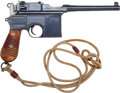 Handguns:Semiautomatic Pistol, Mauser 96 Early Model 1930 Semi-Automatic Pistol.. ...