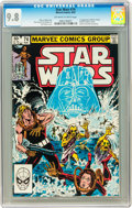 Modern Age (1980-Present):Science Fiction, Star Wars #74 (Marvel, 1983) CGC NM/MT 9.8 Off-white to whitepages....