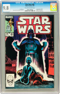Modern Age (1980-Present):Science Fiction, Star Wars #80 (Marvel, 1984) CGC NM/MT 9.8 Off-white to whitepages....