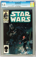 Modern Age (1980-Present):Science Fiction, Star Wars #92 (Marvel, 1985) CGC NM/MT 9.8 Off-white to whitepages....
