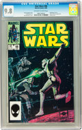 Modern Age (1980-Present):Science Fiction, Star Wars #98 (Marvel, 1985) CGC NM/MT 9.8 Off-white to white pages....