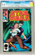 Modern Age (1980-Present):Science Fiction, Star Wars #103 (Marvel, 1986) CGC NM/MT 9.8 Off-white to white pages....