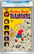 Bronze Age (1970-1979):Humor, Richie Rich Diamonds #1 File Copy (Harvey, 1972) CGC NM+ 9.6Off-white to white pages....