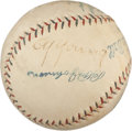 Autographs:Baseballs, 1920's Cy Young Signed Baseball....