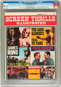 Magazines:Vintage, Screen Thrills Illustrated #10 (Warren, 1965) CGC NM- 9.2 Off-white to white pages....