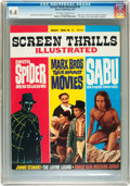 Magazines:Vintage, Screen Thrills Illustrated #8 (Warren, 1964) CGC NM 9.4 Off-white to white pages....