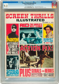Magazines:Miscellaneous, Screen Thrills Illustrated #6 (Warren, 1963) CGC NM- 9.2 Cream tooff-white pages....