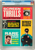 Magazines:Vintage, Screen Thrills Illustrated #5 (Warren, 1963) CGC VF+ 8.5 Cream to off-white pages....