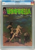 Magazines:Horror, Vampirella #5 (Warren, 1970) CGC NM 9.4 Cream to off-white pages....