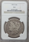 Morgan Dollars, 1893-S $1 Good 6 NGC....