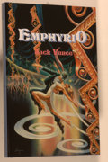 Books:Science Fiction & Fantasy, [Jerry Weist]. Jack Vance. SIGNED LIMITED EDITION. Emphyrio. Lancaster: Charles F. Miller, 1995. Limited to 50...