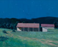 Texas:Early Texas Art - Regionalists, BYRON FULLERTON (American, b. 1929). Nighttime Landscape.Oil on canvas. 16 x 20 inches (40.6 x 50.8 cm). Signed lower r...