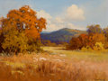 Paintings, ROBERT WILLIAM WOOD (American, 1889-1979). Fall Landscape . Oil on canvas. 12 x 16 inches (30.5 x 40.6 cm). Signed lower...