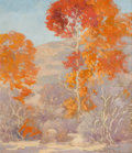 Texas:Early Texas Art - Regionalists, HAROLD ARTHUR RONEY (American, 1899-1986). Trees, 1933. Oilon canvas . 14-1/2 x 12 inches (36.8 x 30.5 cm). Signed and ...