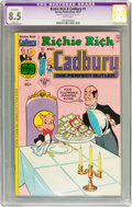 Bronze Age (1970-1979):Cartoon Character, Richie Rich and Cadbury #1 (Harvey, 1977) CGC Apparent VF+ 8.5Slight (P) White pages....