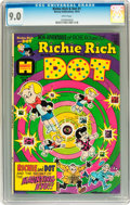Bronze Age (1970-1979):Cartoon Character, Richie Rich and Dot #1 (Harvey, 1974) CGC VF/NM 9.0 White pages....