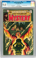 Bronze Age (1970-1979):Horror, House of Mystery #188 (DC, 1970) CGC VF/NM 9.0 White pages....