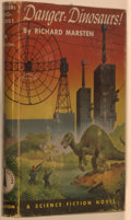 Books:Science Fiction & Fantasy, [Jerry Weist]. Richard Marsten. Danger: Dinosaurs! Philadelphia: John C. Winston Company, 1953. First edition. Octav...