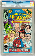 Modern Age (1980-Present):Superhero, The Amazing Spider-Man #274 (Marvel, 1986) CGC NM/MT 9.8 Whitepages....