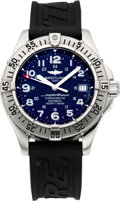 Timepieces:Wristwatch, Breitling SuperOcean Automatic Chronometer. ...