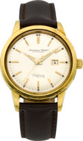Timepieces:Wristwatch, International Watch Co. 18k Gold Ingenieur Automatic. ...