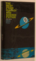 Books:Science Fiction & Fantasy, [Jerry Weist]. Edward L. Ferman, editor. The Best of Fantasy & Science Fiction, 20th Series. Garden City: Double...