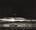 Prints, ANSEL ADAMS (American, 1902-1984). Moonrise Hernandez, New Mexico, 1941. Collotype, limited edition, circa 1979. 37 x 46...