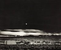 ANSEL ADAMS (American, 1902-1984) Moonrise Hernandez, New Mexico, 1941 Collotype, limited edition, c