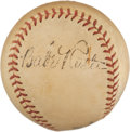 Autographs:Baseballs, Late 1930's Babe Ruth Signed Baseball....