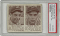 Baseball Cards:Singles (1940-1949), 1941 Double Play #63 Joe DiMaggio/#64 Charley Keller PSA VG-EX 4.The New York Yankees All-Star pair of Joe DiMaggio and Ch...