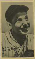 "Baseball Cards:Singles (1930-1939), 1936 R314 Goudey ""Wide Pen"" Premiums Joe DiMaggio. Here we offer the key to the 1936 Goudey Premiums issue -- a stellar exa..."