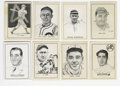 Baseball Cards:Sets, 1950 Callahan Hall of Fame Baseball Complete Set . Complete set of 91 cards from the 1950 Callahan Hall of Fame issue, incl...