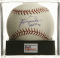 "Autographs:Baseballs, Ferguson Jenkins ""HOF 91"" Single Signed Baseball, PSA Mint+ 9.5. Ahighly desirable signature Hall of Fame inscription from..."