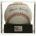 Autographs:Baseballs, Harmon Killebrew Single Signed Baseball, PSA Gem Mint 10. One ofthe premier power hitters in baseball's fine history, Harmo...