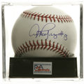 "Autographs:Baseballs, Alex Rodriguez ""#13"" Single Signed Baseball, PSA Gem Mint 10. Stunning single comes to us via the man who has been called t..."
