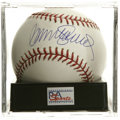 Autographs:Baseballs, Ryne Sandberg Single Signed Baseball, PSA Gem Mint 10. A gorgeoussweet spot signature from the Hall of Fame Chicago Cubs s...