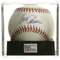 "Autographs:Baseballs, Tom Seaver Single Signed Baseball, PSA Gem Mint 10. ""Terrific"" OMLbaseball boasts a flawless blue ink sweet spot signature..."
