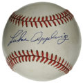 Autographs:Baseballs, Luke Appling Single Signed Baseball. White Sox fan favorite LukeAppling became a very consistent hitter at Comiskey Park, ...