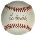 Autographs:Baseballs, Don Drysdale Single Signed Baseball. Part of the Dodgers' ferocious1-2 pitching punch with fellow HOFer Sandy Koufax, Don ...