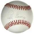 Autographs:Baseballs, Lefty Gomez Single Signed Baseball. Hall of Fame southpaw hurlerLefty Gomez spent most of his career with the New York Yan...