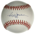 Autographs:Baseballs, Reggie Jackson Single Signed Baseball. Mr. October has left hisdesirable signature in a 10/10 blue ink stroke, which he ha...