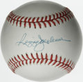 Autographs:Baseballs, Reggie Jackson Single Signed Baseball. Reggie Jackson had a knackfor the entertainment aspect of playing professional base...