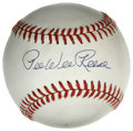 Autographs:Baseballs, Pee Wee Reese Single Signed Baseball. Stunningly perfect sweet spotsignature resides on the surface of the provided ONL (W...