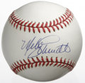 Autographs:Baseballs, Mike Schmidt Single Signed Baseball. Member of the exclusive 500Home Run Club and regarded among the top third baseman, Mi...