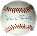 Autographs:Baseballs, Willie Stargell Single Signed Baseball. Pops led a generation ofPittsburgh Pirates to much on-field success during his ten...
